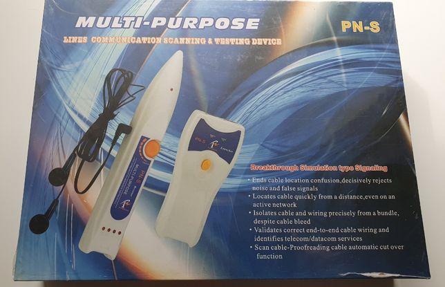 PN-S Wielofunkcyjny tester linii komunikacyjnych i przewodów