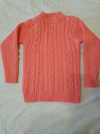 Теплые свитерки от 4 до 6 лет.