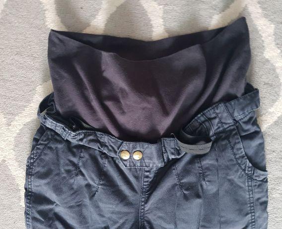 Spodnie ciążowe jeansowe, r. S, regulowane