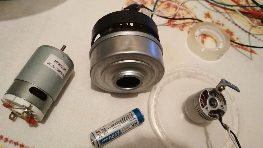 Турбина для робота пылесоса 100.000 об\мин 36В 350Вт бесщеточный мотор Запорожье - изображение 1