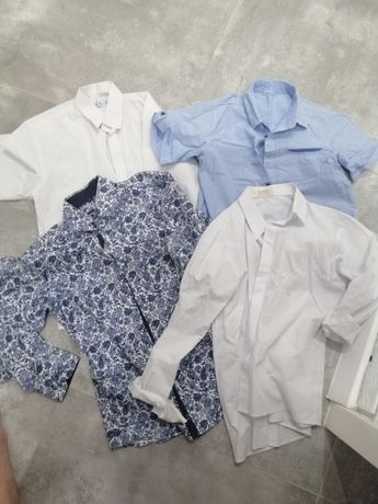 Sprzedam ubrania po synku 140/146