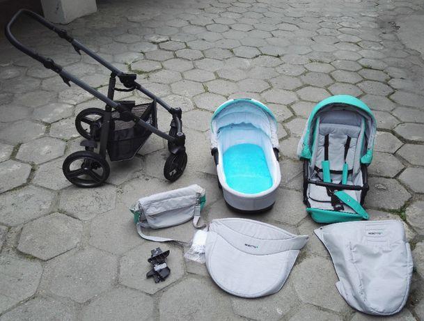 Bebetto Vulcano, wózek 2w1