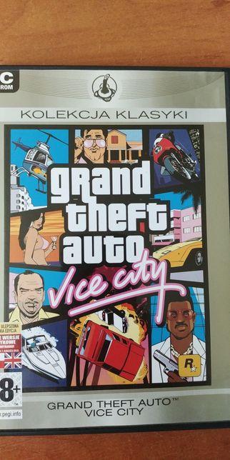 Gra PC - Grand theft auto vice vity + instrukcja
