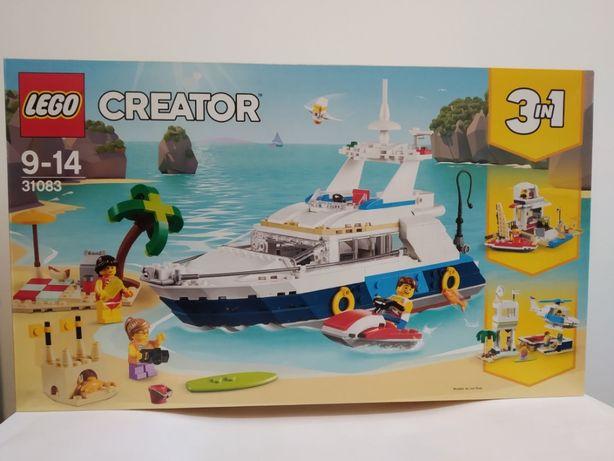 LEGO CREATOR 3w1 31083 Przygody w Podróży Statek NOWY