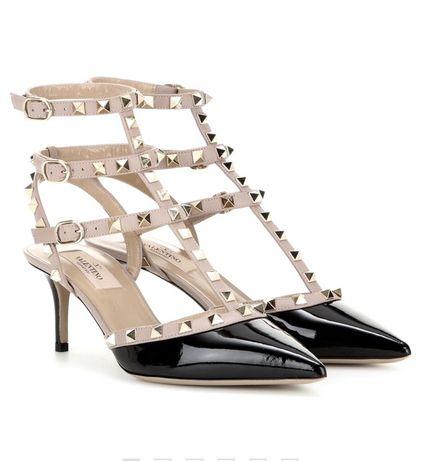 Новые лаковые туфли-лодочки, натуральная кожа, 37 размер