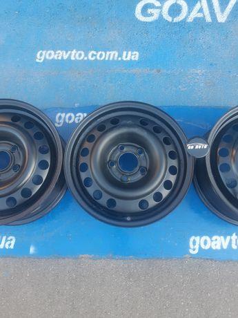 GOAUTO комплект дисков Opel 5/110 r15 et49 6j dia65.1 в идеальном сост
