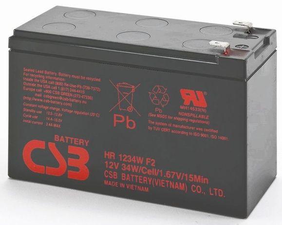 Аккумулятор CSB для ИБП (бесперебойника) 12в 9ач