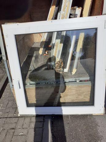 Okno Plastikowe Bialo Brązowe  4 szt.