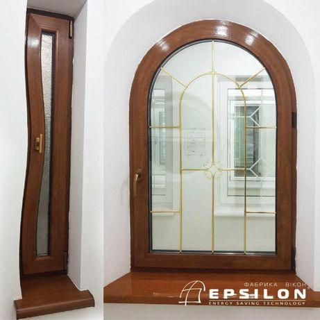 Вікна металопластикові Вхідні двері міжкімнатні двері Вікна на балкон