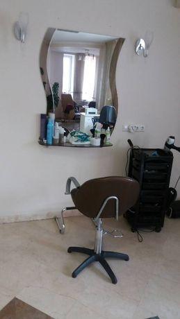 Аренда рабочего места мастер - парикмахер и кабинет косметолога.