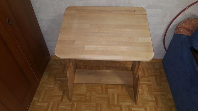Парта школярик растишка со стулом и увеличителем высоты