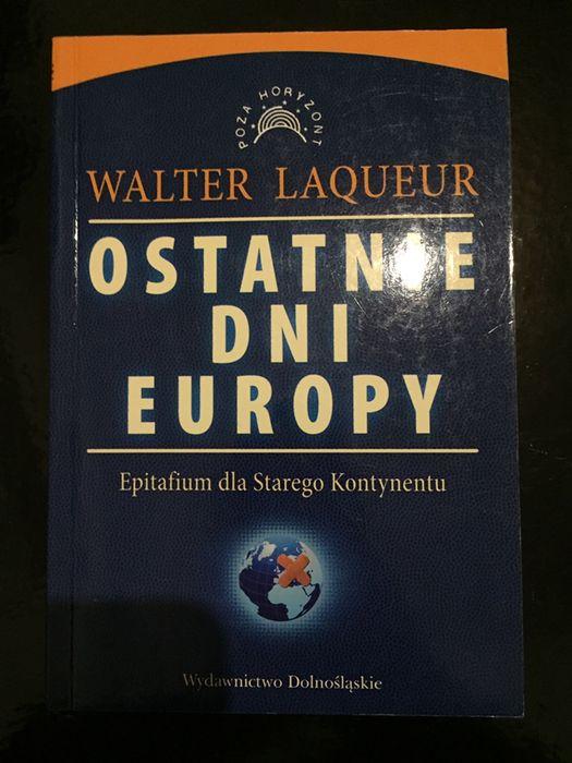 Książka Ostatnie dni Europy Waltera Laqueur'a Kraków - image 1