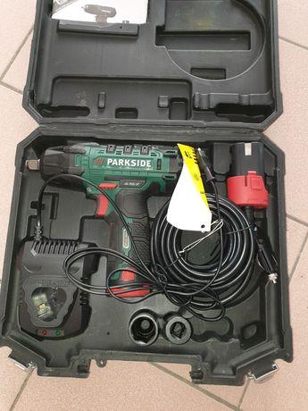 Aparafusadora de impacto a bateria parkside