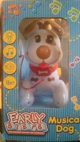 Muzyczny pies zabawka