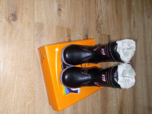 buty dzieciece ocieplane nowe