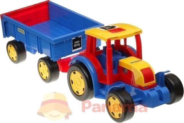"""Авто """"Gigant Truck"""" Трактор с прицепом - Wader"""