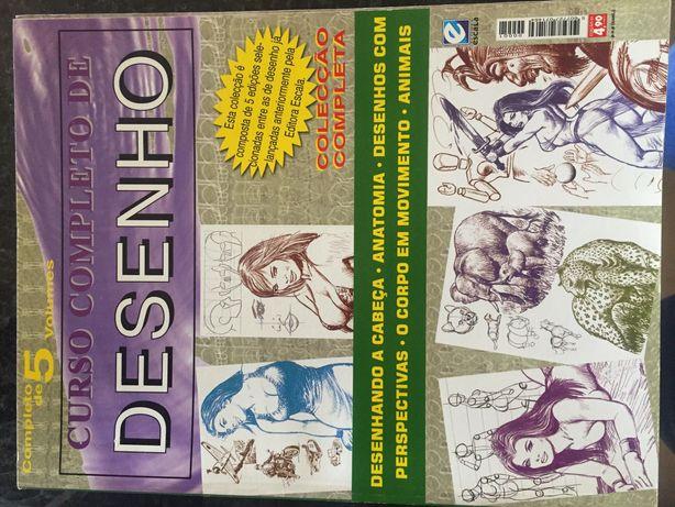 Livro curso completo desenho 3,80€