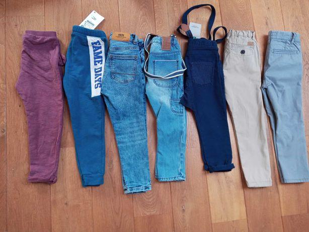 Spodnie 104/110 zara hm