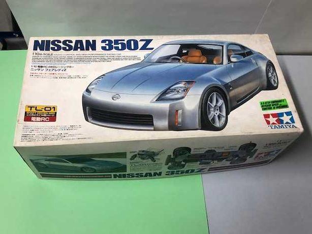 TAMIYA carro com raio controle modelo NISSAN 350Z  - Esc: 1/10