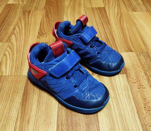Детские кроссовки adidas spider-man rapidarun i (15 см)