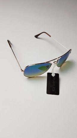 NOWE Okulary przeciwsłoneczne UV400 model ray ban aviator