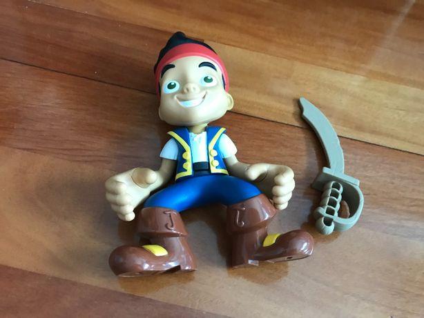 Jack os piratas bonecos