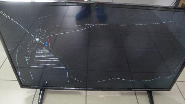 Телевизор Liberton 39MCC1HDT битая матрица, на запчасти