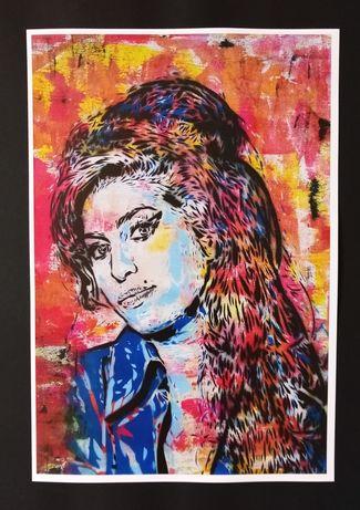 Posters Amy Winehouse, Kurt Cobain, Jimi Hendrix, David Bowie, etc.