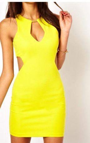 seksowna krótka sukienka mini Asos
