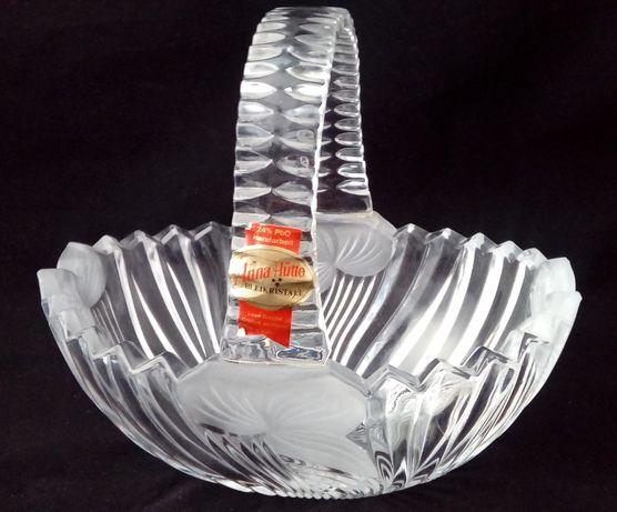 Kryształowy koszyk Anna Hutte