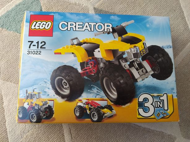 Zestaw LEGO CREATOR 31022 3w1 quad