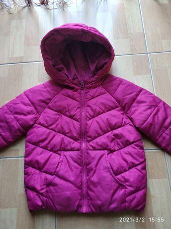 R.110 ZARA kurtka różowa jesienno zimowa