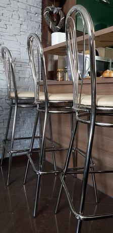 Komplet krzeseł barowych