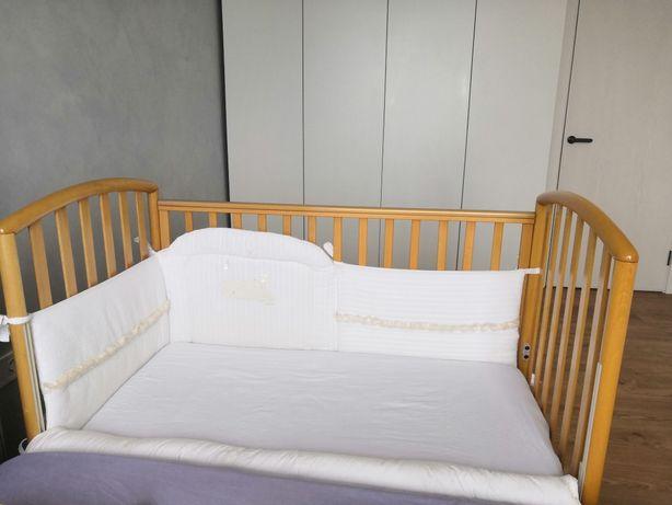 Ліжечко дитяче Pali італійське+ захист/постіль/ковдра+ матрасик