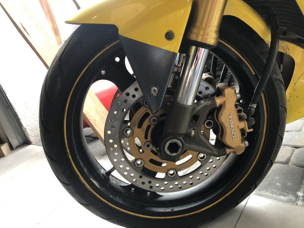 Kawasaki zx6r 03 04 zaciski przednie hamulce tarcze felga kolo