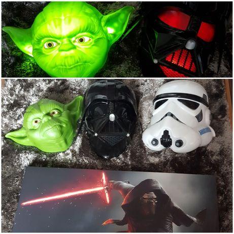 Lampa star wars , obraz star wars yoda darth vader szturmowiec