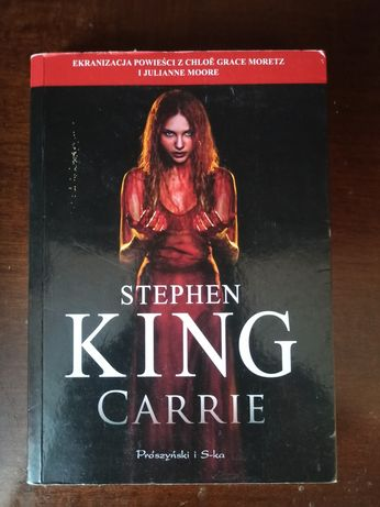 Carrie Stephen King horror książka bestseller