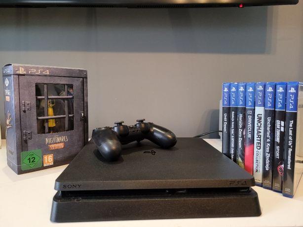 Sony Playstation 4 Slim 1TB + gry
