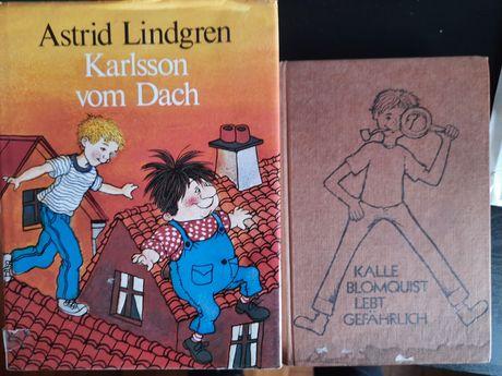 Astrid Lindgren. Karlson vom Dach, Kalle Blomquist lebt gefährlich.