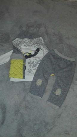 Komplet kamizelka +bluzka+ spodnie