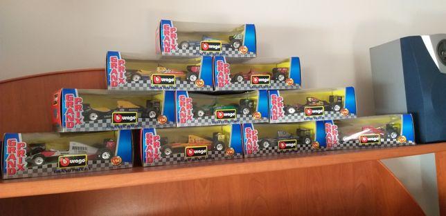 Conjunto de 6 Carrinhos F1 coleção burago