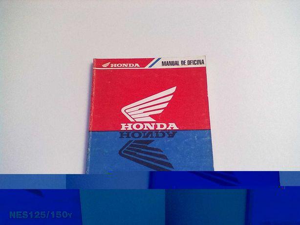 Manual Técnico Oficial Honda NES 125-150y