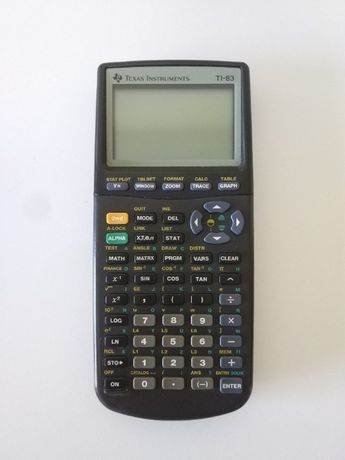 Calculadora Texas Instruments TI-83