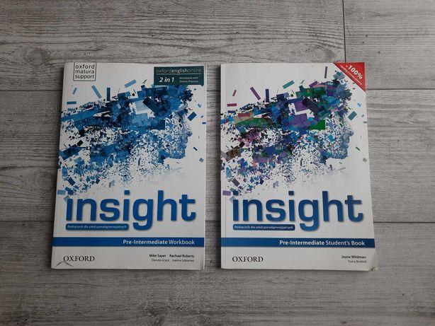 Insight zestaw podręcznika i ćwiczeń do języka angielskiego