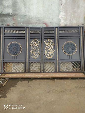 Ковані ворота дешево від 17000