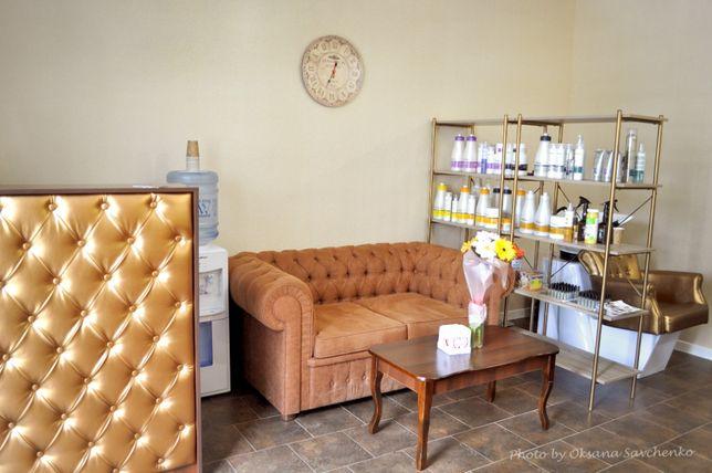 Диван для салона красоты в зал ожидания клиентов