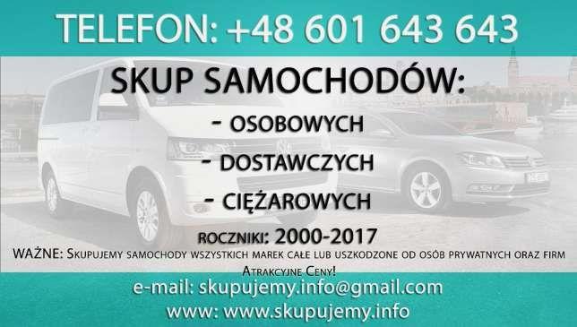 Skup Aut !! Skup Samochodów!! Warszawa