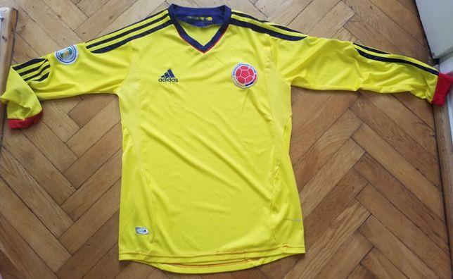 Koszulka reprezentacji Kolumbii Adidas WC 2014 Brazylia. Długi rękaw