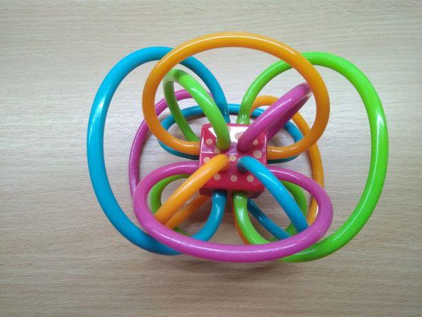Первая игрушка прорезыватель грызун мяч Manhattan toy 0+