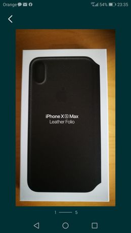 Etui iPhone XS max skórzane Etui oryginalne do iphone XS max